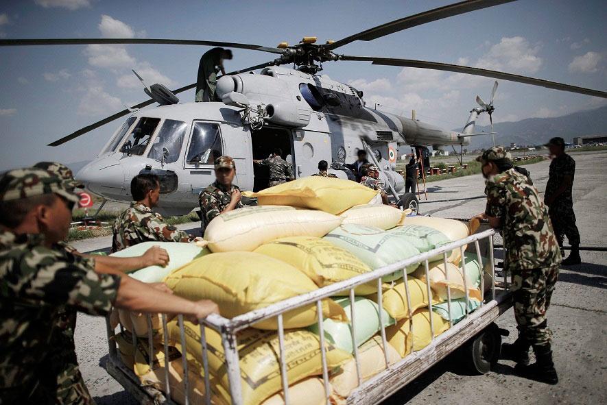 Cargoplanet ayuda a las víctimas del Terremoto en Nepal