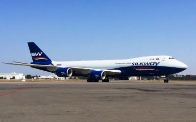 Silk Way West Airlines adquiere tres Boeing 747-8 cargueros