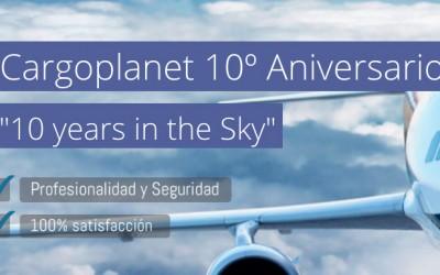 Cargoplanet celebra su 10º Aniversario